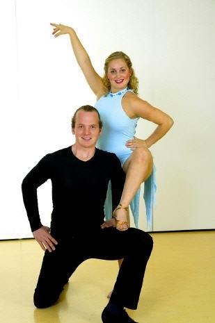 Tanzstudio Turnier und Sporttänzer 12 Ballerini di tornei e sportivi