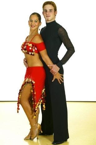 Tanzstudio Turnier und Sporttänzer 15 Ballerini di tornei e sportivi
