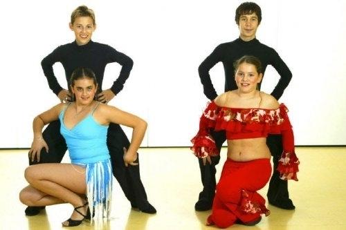 Tanzstudio Turnier und Sporttänzer 23 Ballerini di tornei e sportivi