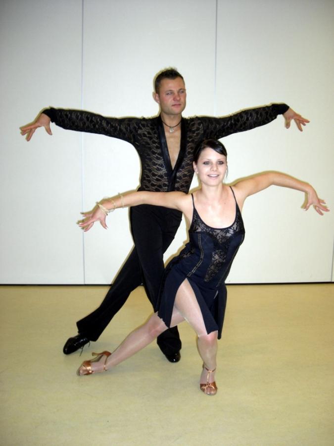 Tanzstudio Turnier und Sporttänzer 3 Ballerini di tornei e sportivi