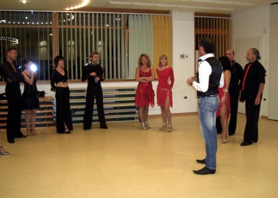 Tanzstudio Turnier und Sporttänzer 6 Ballerini di tornei e sportivi