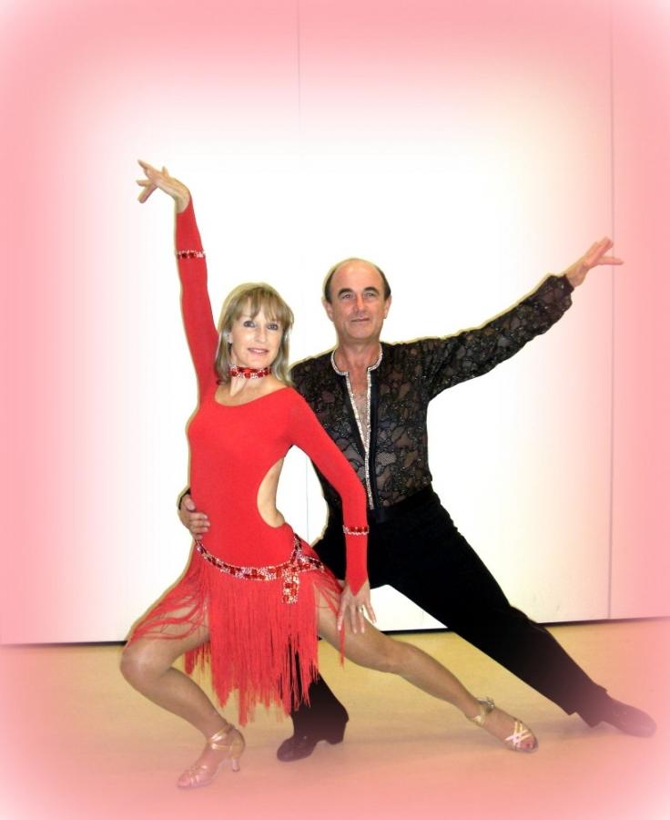 Tanzstudio Turnier und Sporttänzer 8 Ballerini di tornei e sportivi
